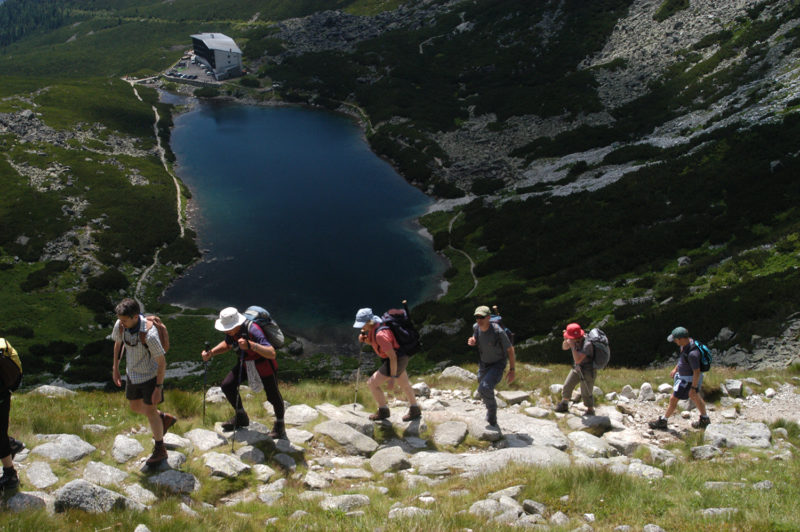Velicke Pleso High Tatras Slovakia