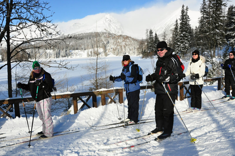 Cross Country Skiing High Tatras