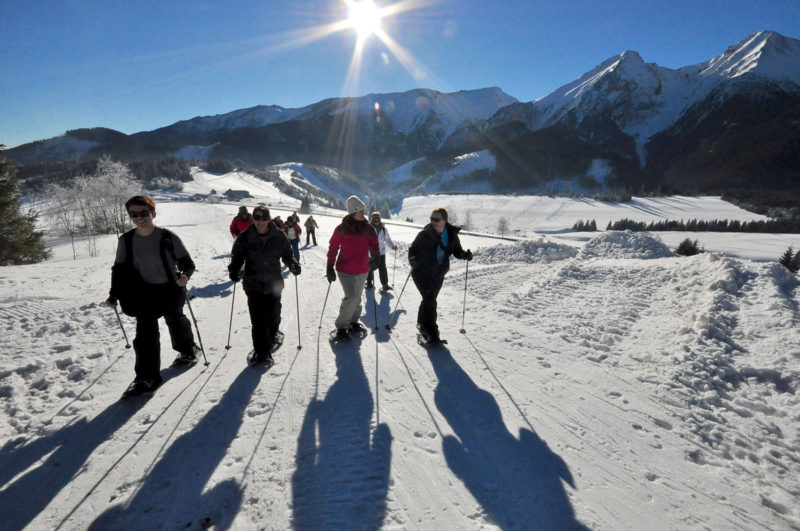 Snowshoeing Winter Walking Slovakia