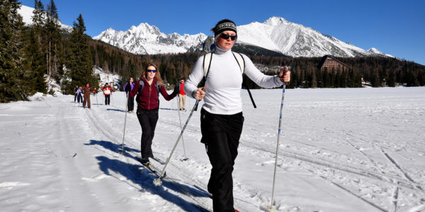 Cross Country Skiing Strbske Pleso Slovakia