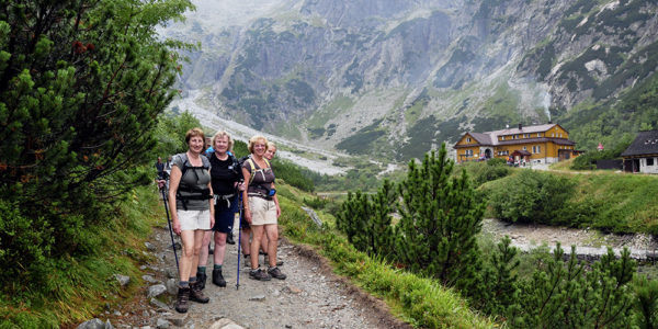 Self-Guided Walking in the High Tatras