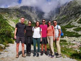 Walking Hiking High Tatras
