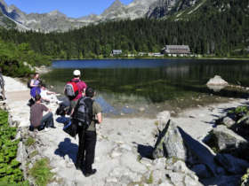 Popradkse pleso walking