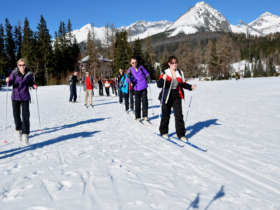 Cross Country Skiing High Tatras Slovakia 2