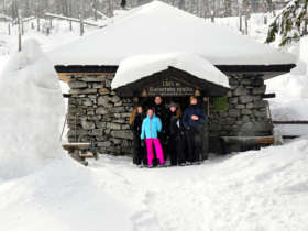 Hrebienok Rainerova Chata Hut Winter 4