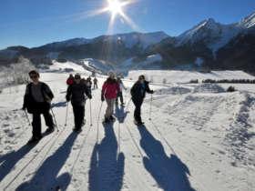 Snowshoeing High Tatras Slovakia 1