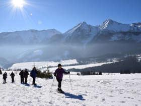 Snowshoeing High Tatras Slovakia 6