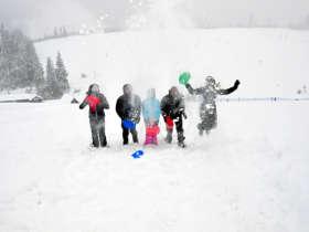 Family Winter Holiday Tatra Mountains Slovakia