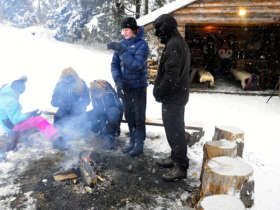 Grilling Outdoor High Tatras Slovakia