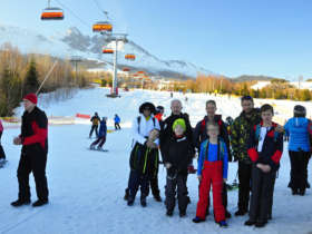 Slovakia Family Winter High Tatras 8