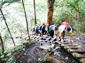 Walking Slovak Paradise Slovakia Guided Tours 10