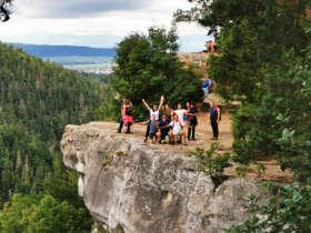 Walking Slovak Paradise Slovakia Guided Tours 3
