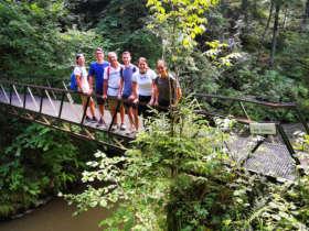 Walking Slovak Paradise Slovakia Guided Tours 5