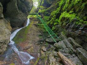 Canyons Slovak Paradise Walking