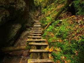 Walking Hiking Slovak Paradise National Park 19