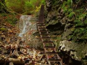Walking Hiking Slovak Paradise National Park 21