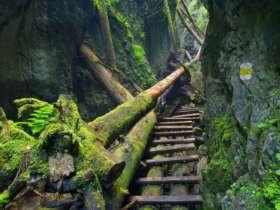 Walking Hiking Slovak Paradise National Park 25