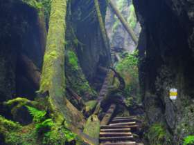 Walking Hiking Slovak Paradise National Park 26