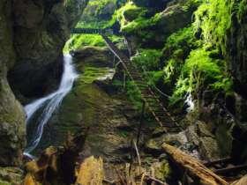 Walking Hiking Slovak Paradise National Park 46