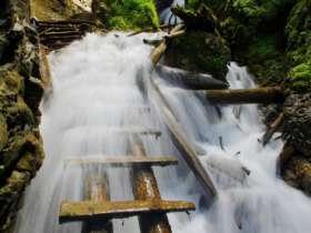 Walking Hiking Slovak Paradise National Park 47