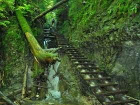 Walking Hiking Slovak Paradise National Park 50