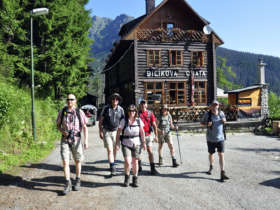 Tst Walking Holiday Tatra Mountains Slovakia 1