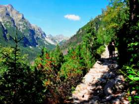 Tst Walking Holiday Tatra Mountains Slovakia 2