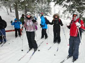 Cross Country Skiing High Tatras Strbske Pleso 1