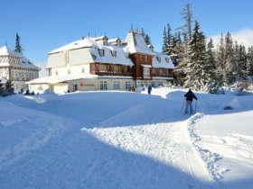Cross Country Skiing High Tatras Strbske Pleso 11