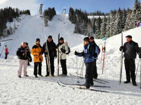 Cross Country Skiing High Tatras Strbske Pleso 14
