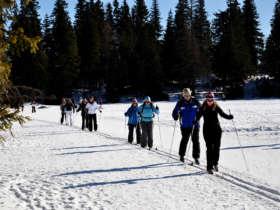 Cross Country Skiing High Tatras Strbske Pleso 15