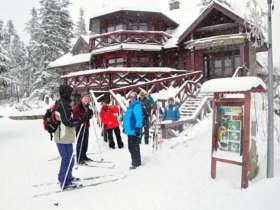 Cross Country Skiing High Tatras Strbske Pleso 2