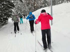 Cross Country Skiing High Tatras Strbske Pleso 5