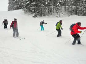 Cross Country Skiing High Tatras Strbske Pleso 6