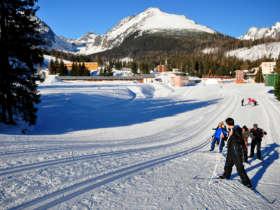 Cross Country Skiing High Tatras Strbske Pleso 8