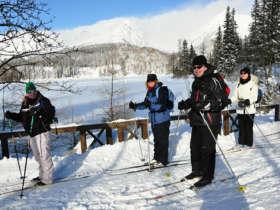 Cross Country Skiing High Tatras Strbske Pleso 9
