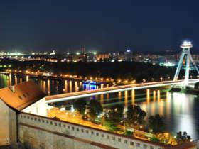 11 bratislava at night