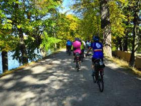 6 cycling to trebon