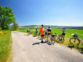 8 cycling to telc