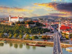 Bratislava Castle Old Town