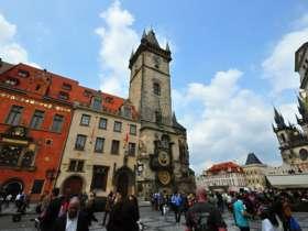 1 Prague Orloj Astronomicla Clock