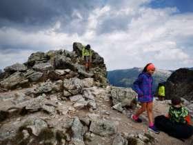 2 Family Walking High Tatras Svistovka