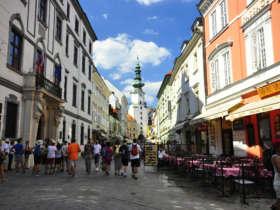 Discover slovakia michalska brana bratislava