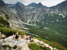 Family Walking Holiday High Tatras Slovakia