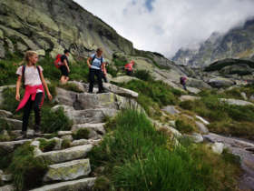 Family Walking Holiday Tatra Mountains Slovakia
