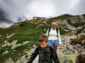 Family Walking Tour Tatras Slovakia