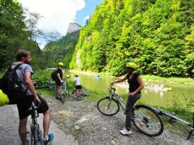 Family Cycling Holiday Pieniny Tatras Slovakia