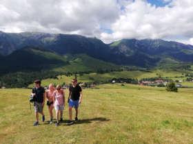 Family Walking Holiday Tatras Slovakia