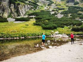 Family walk high tatras