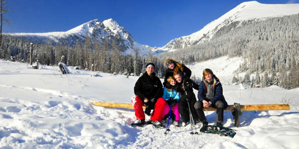 Snowshoeing Winter Walk High Tatras Family Day Trip